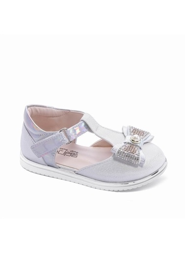 Sanbe 313T1301 Kız Çocuk Babet Ayakkabı 26-30 Krem